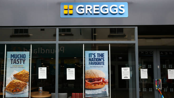 Greggs is also going to re-opening just under half its stores
