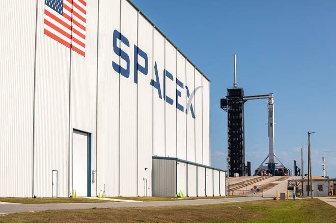 the mission is a joint effort between SpaceX and NASA