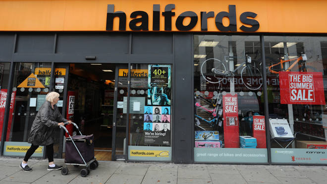 Halfords is going to reopen over 50 branches with measures in place to protect shoppers and staff
