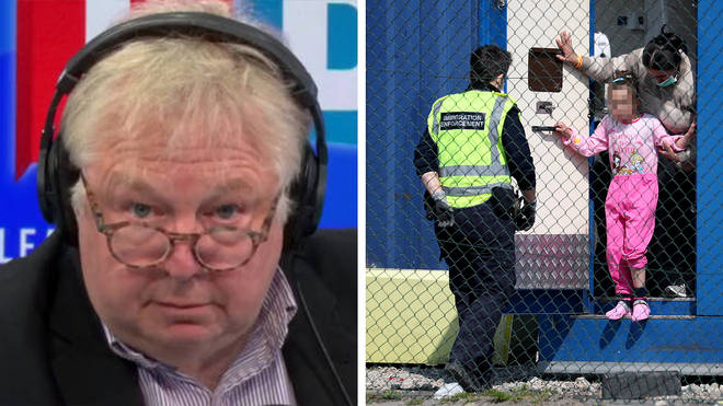 Nick Ferrari was speaking to a former Border Force chief