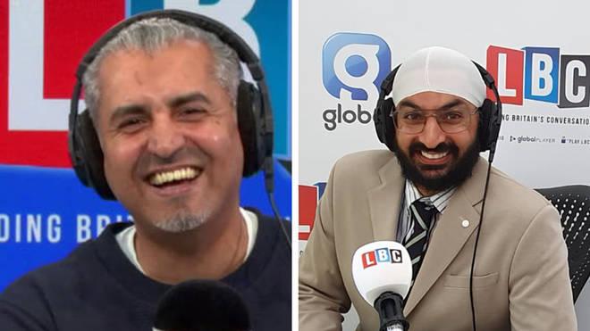 The cricket legend was speaking to Maajid Nawaz