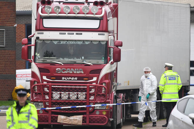 13 more peope have been arrested in connection with the Essex lorry deaths