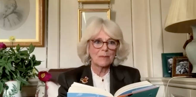 The Duchess of Cornwall put her storytelling skills to the test