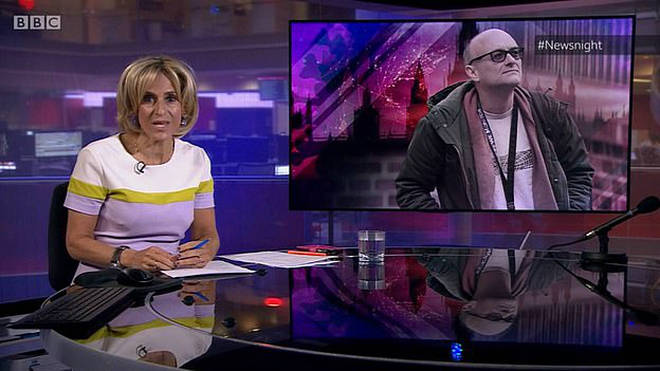 Emily Maitlis said she asked for the night off