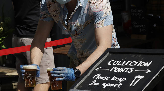 Pubs reopening: Social distancing rules in pubs are being looked into