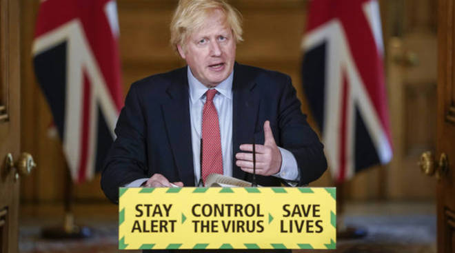 Boris Johnson has announced a relaxation of England's lockdown rules.