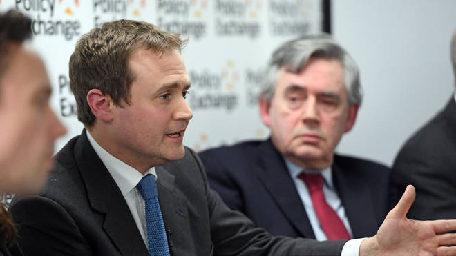Tom Tugendhat's interview was cut short