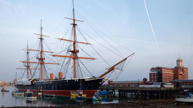 Old Navy Ship