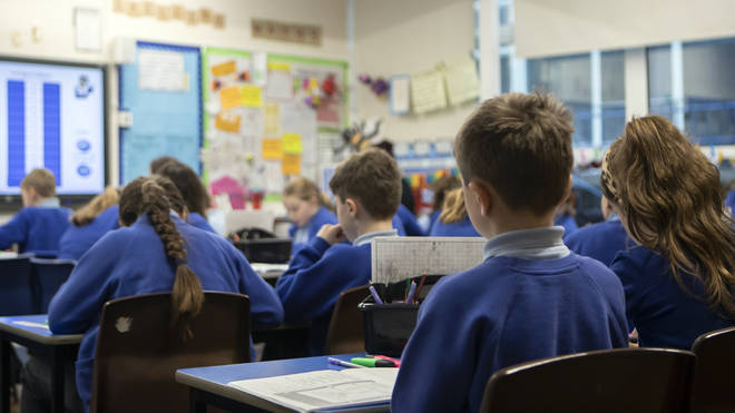 Schools across the UK welcomed some pupils back today for the first time in two months