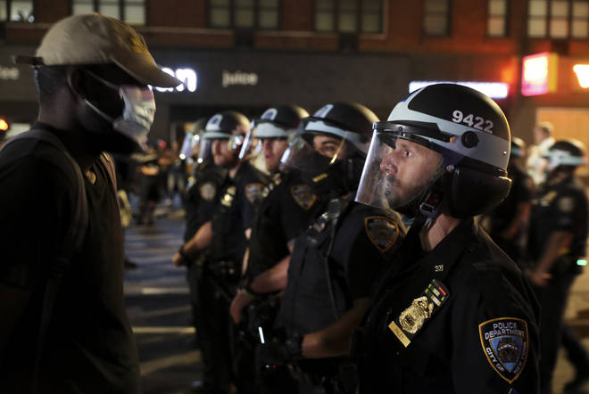 New York City will impose a curfew between 11pm and 5am Eastern Time