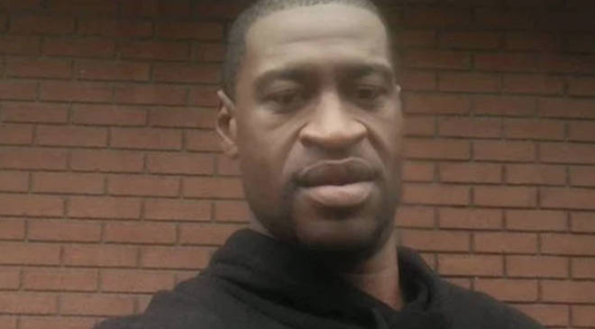 George Floyd died last Monday after his neck was knelt on by a white officer.