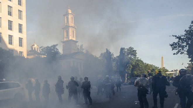 Protesters are now being routinely targeted
