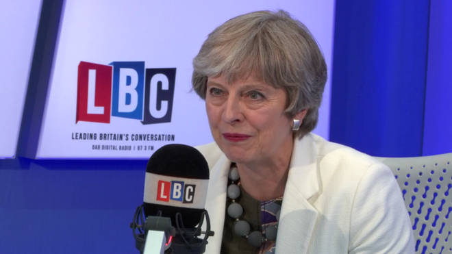 "Theresa May refused to answer Iain Dale&squot;s ""hypothetical"" question"