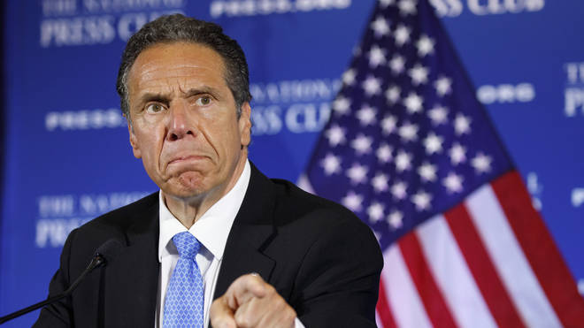 Andrew Cuomo said the NYPD and the mayor were 'a disgrace' overnight