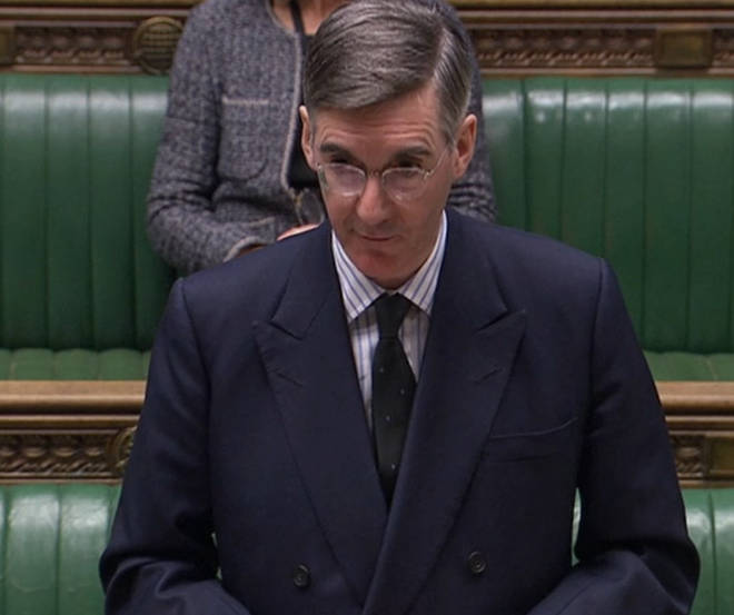 Leader of the House Jacob Rees-Mogg proposed an end to remote voting