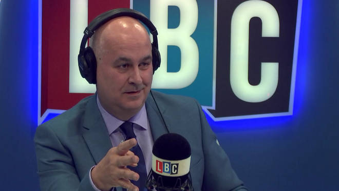 Iain Dale put the Prime Minister under pressure during the interview