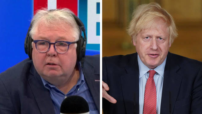 """Nick Ferrari asked why the PM hasn&squot;t been in """"direct control"""""""