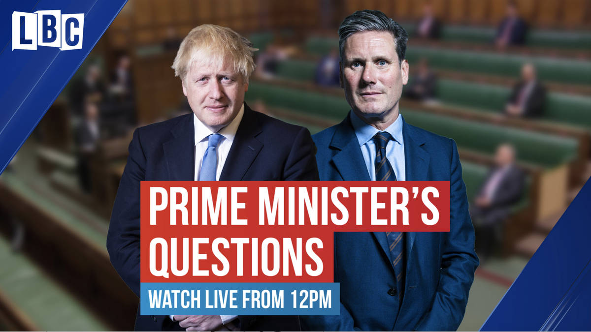 Watch LIVE: Boris Johnson's first PMQ's since Dominic Cummings scandal