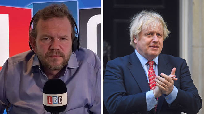 James O'Brien's caller was offended by Boris Johnson