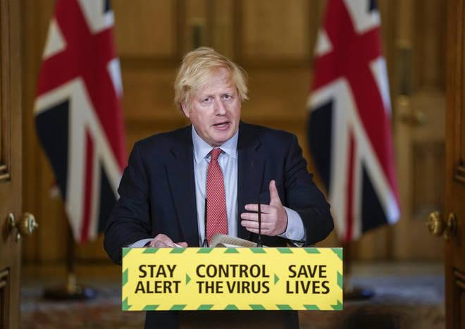 Boris Johnson is leading today's Covid-19 update