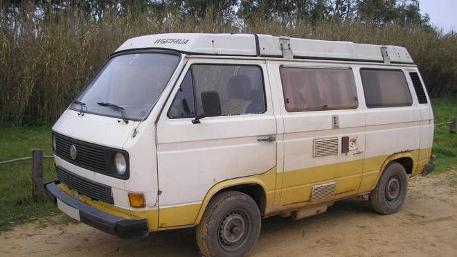 The suspect has been linked to an early 1980s camper van