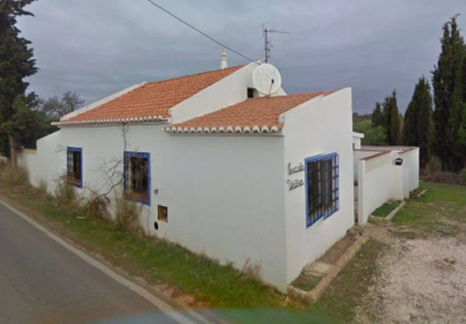 The suspect was renting this apartment in Portugal