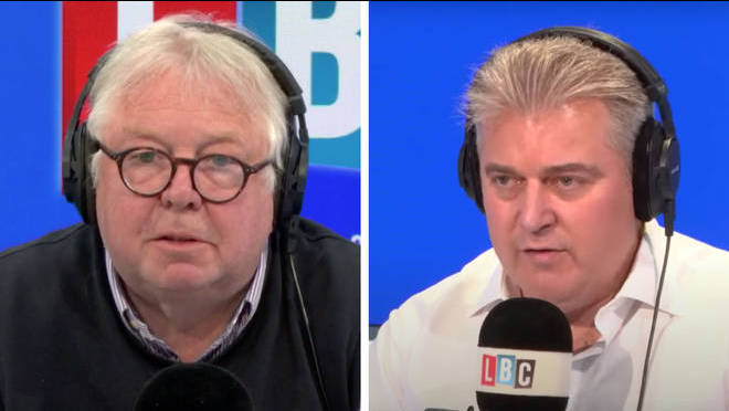 Nick Ferrari challenged Brandon Lewis over the government's quarantine rules