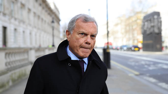 Sir Martin Sorrell said the government locked down too slowly