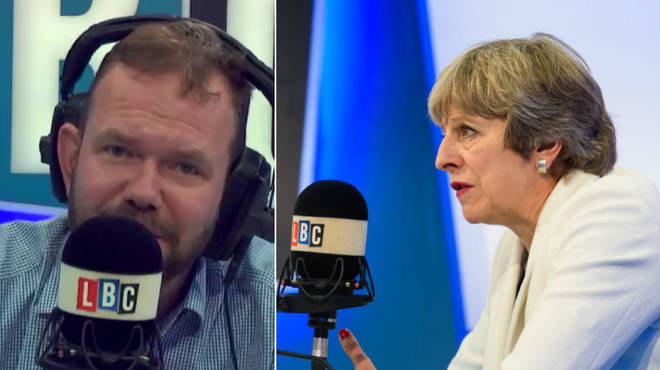James O'Brien had some advice to Theresa May