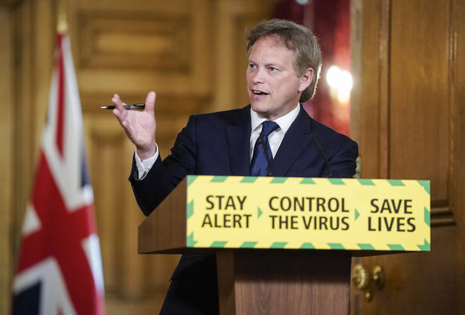 Transport Secretary Grant Shapps will be taking today's coronavirus press conference