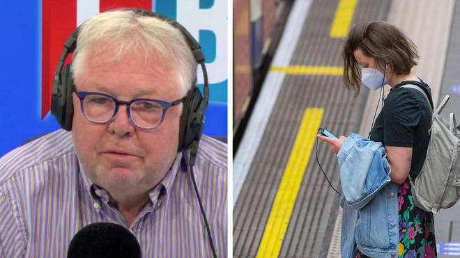 Nick Ferrari asked Grant Shapps why facemasks were being introduced now