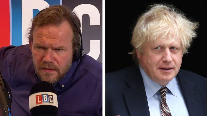 James O'Brien asked what Boris Johnson is proud of