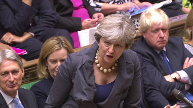 Theresa May was asked the same question Iain Dale asked her at PMQs