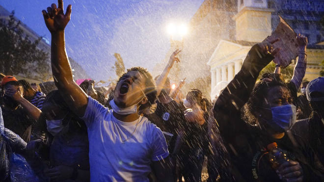 Protesters have been sparked all across the US in response to George Floyd's death