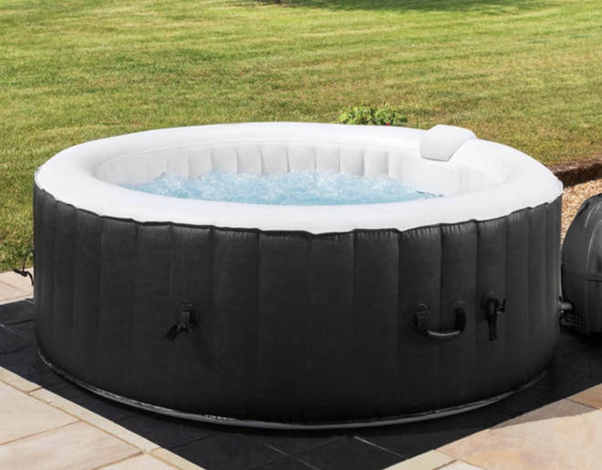 Win this amazing inflatable hot tub!