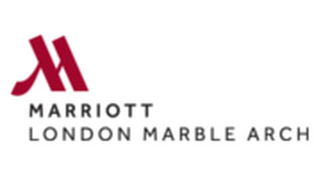 You'll stay at the Marriott London Marble Arch