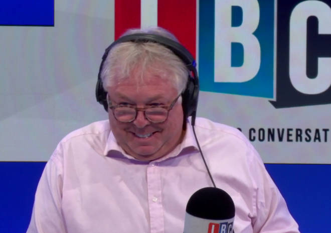 Nick Ferrari in the LBC studio
