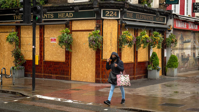 Pub gardens could be allowed to be open as long as social distancing is adhered to