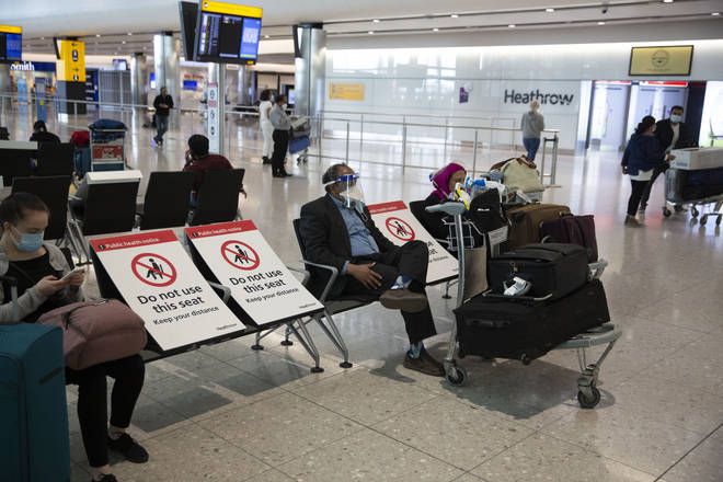 New rules will see travellers having to provide addresses and phone numbers to show they're remaining in quarantine for 14 days after arriving in the UK