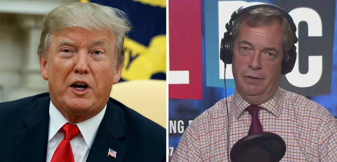 Farage Trump