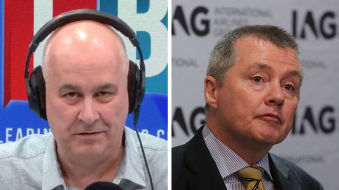 "Iain Dale confronts BA owner over ""aggressive"" treatment of staff"