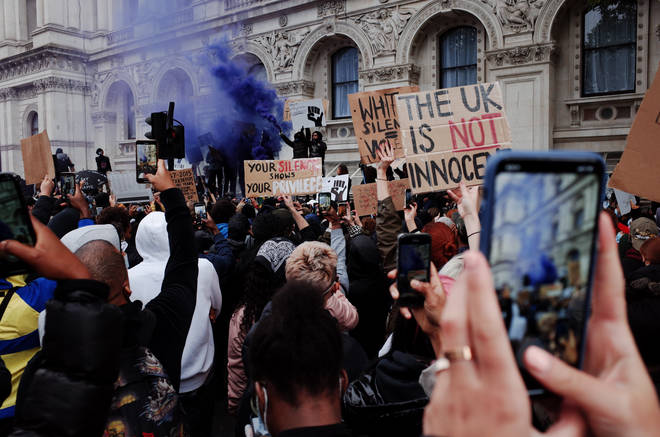 Protestors took to the streets of London at the weekend