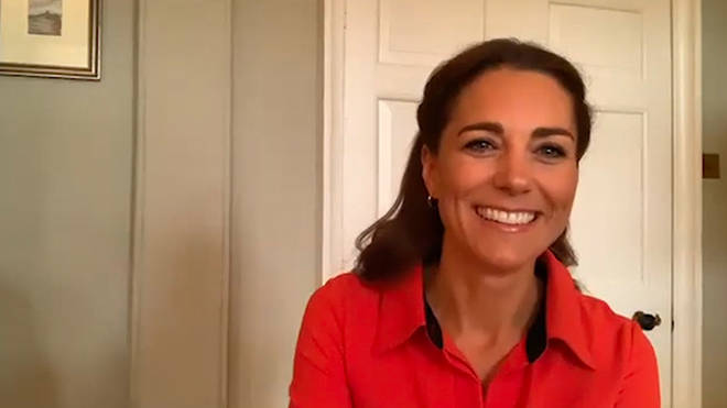 Kate Middleton took part in a virtual visit