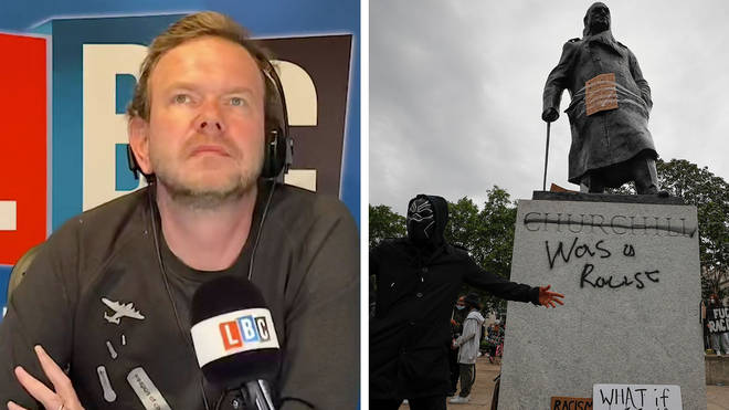James O'Brien heard a powerful response from a caller on the toppling of statues