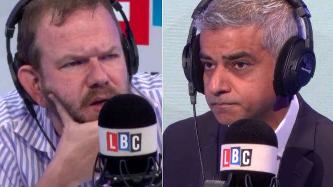James O'Brien grilled Sadiq Khan
