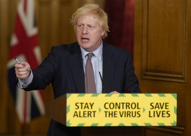 However, Boris Johnson's popularity has continued to fall