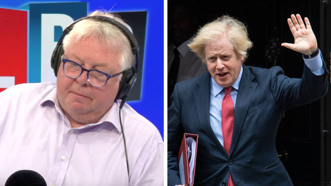 A professor told Nick Ferrari that the scientists are treating the UK like a laboratory