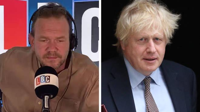 James O'Brien had some strong words for Boris Johnson