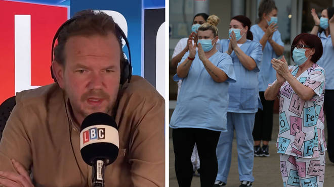 A nurse told James O'Brien she was considering quitting