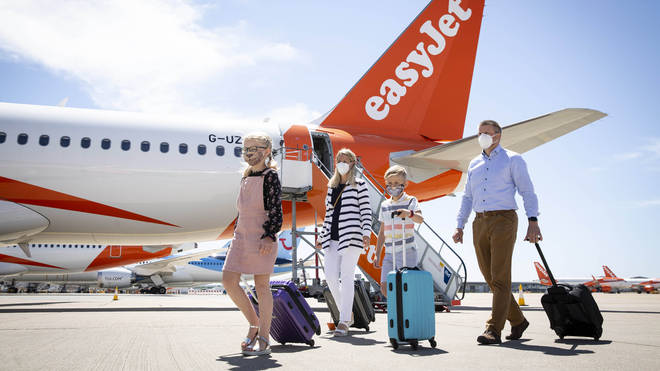 EasyJet will resume flights on Monday, while other airlines are set to scale up their operations next month